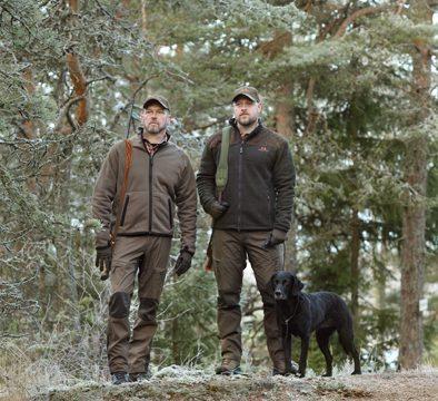 Joskus nopeus ratkaisee, metsästysasukuvaus miljöössä